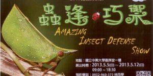 中興大學昆蟲展活動